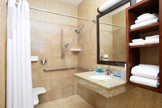 Guest ADA Roll In Shower Bath Room