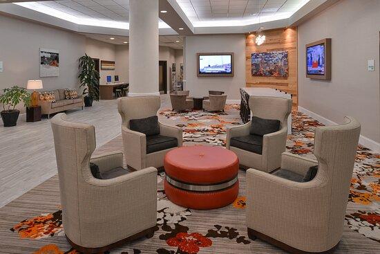 Hotel Lobby Holiday Inn Charlotte Center City
