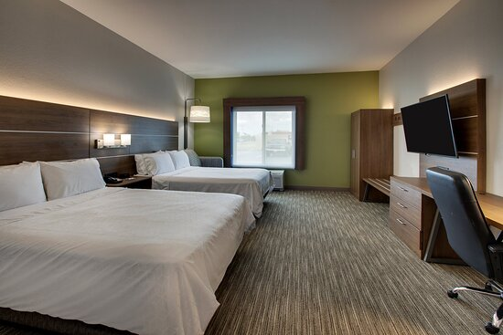 There's extra room to spread out in our over sized two queen room