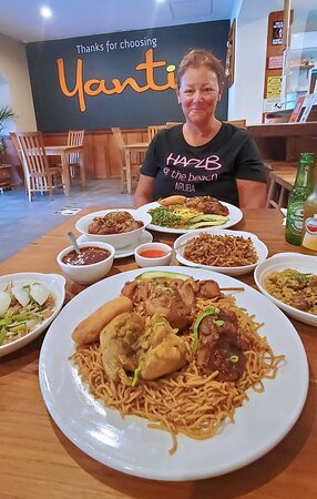 Lunch for two can feed three to four at Yanti (c:TabHauserPhoto)