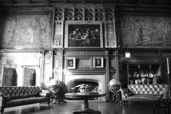 Bamburgh Castle Entrance Ticket: Bamburgh, Northumberland, England, United Kingdom, Bamburgh Castle - the Cross Hall.