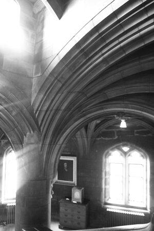 Bamburgh Castle Entrance Ticket: Bamburgh, Northumberland, England, United Kingdom, Bamburgh Castle - staircase.