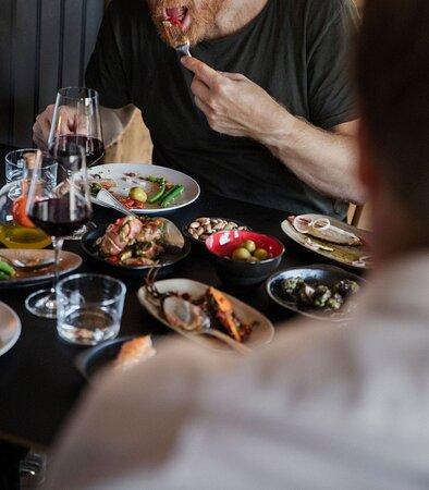 Bryt tapasbar Ålesund dining. Fotograf Kristin Støylen
