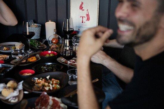 Bryt tapasbar Ålesund enjoy tapas. Fotograf Kristin Støylen