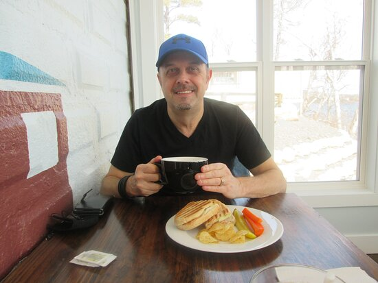 Clarenville, كندا: Lunch and coffee today