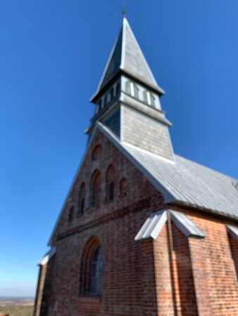 Langaa, Denmark: Kirken set fra vest