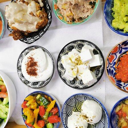 Kfar Vradim, Israel: ארוחת בוקר באוליבר