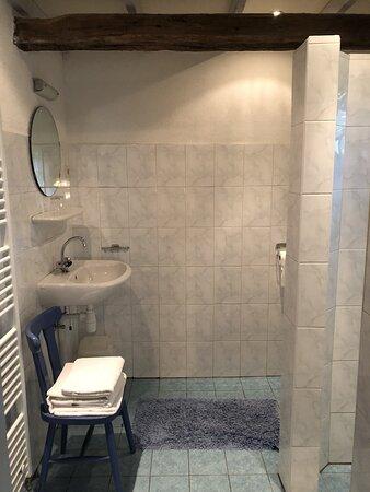 B&B 'Koetshuis', badkamer