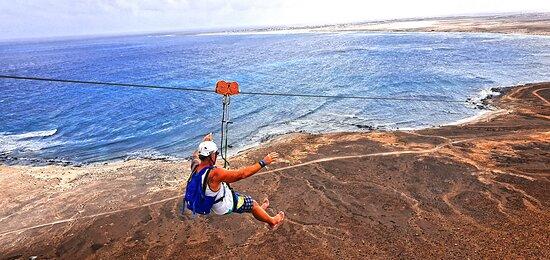Zipline Cabo Verde