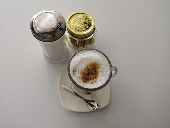 Enjoy the great selection of coffees