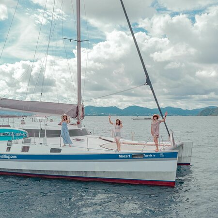 Charter Dock A Thailand #phuket