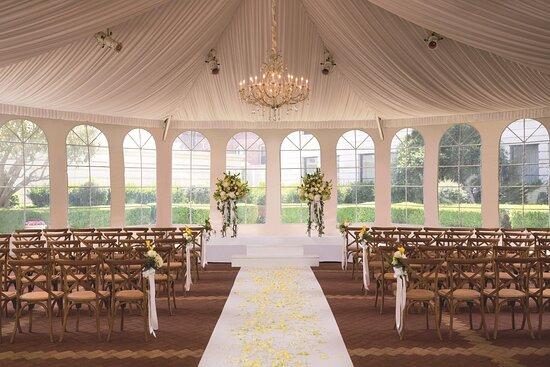 Terrace Courtyard Wedding
