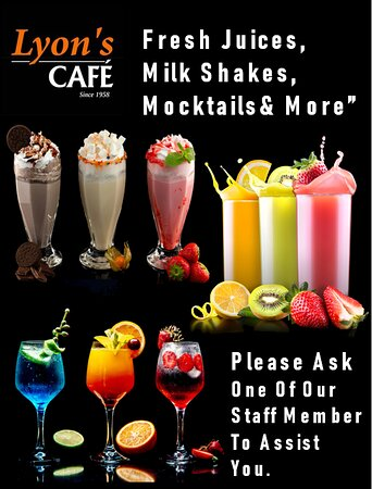 Fresh Juice & Much More Refreshing Beverages