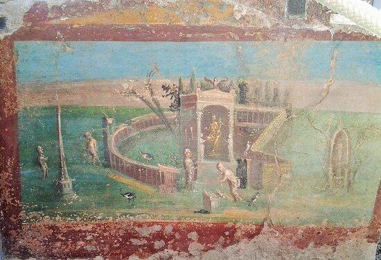 Frescoes from Pompeii