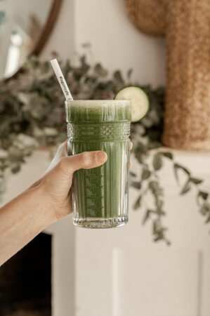 Super Smoothies are always a good option. Green Medicine is the most popular at Lagom! Café