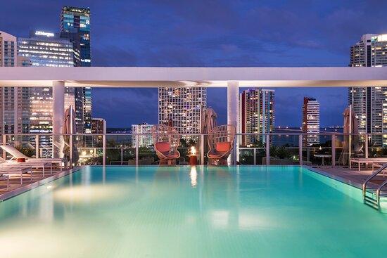 Rooftop Pool Views