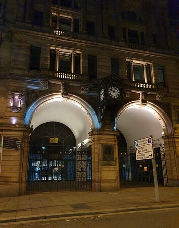 Liverpool Exchange Station Building in Liverpool Buisness District.