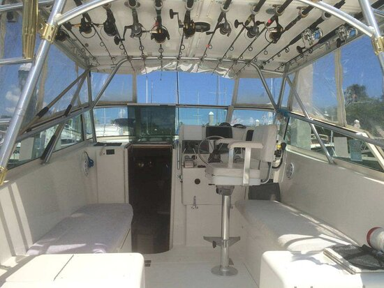 South Portland, Maine: Fishing in comfort on our new 28' express. Come check us out