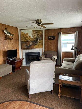 cabin 11 living area