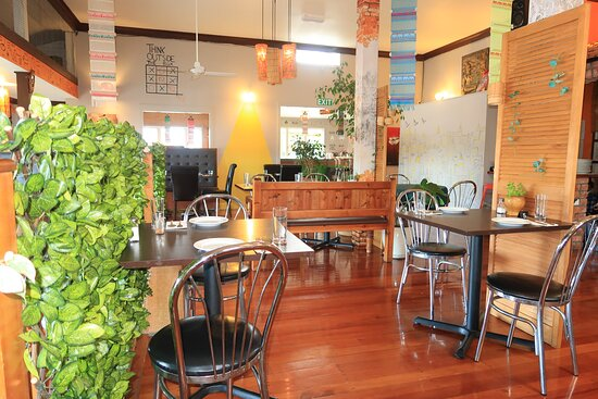 Clive, New Zealand: Inside Dinning Area