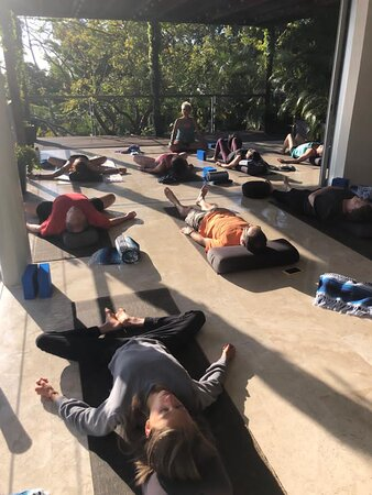 Yoga - lots of relaxing Yin Yoga