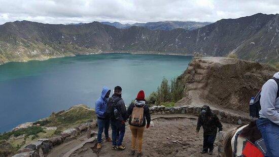 Quilotoa, Ecuador: Foto proporcionada por la gerencia de Aventour Ecuador.