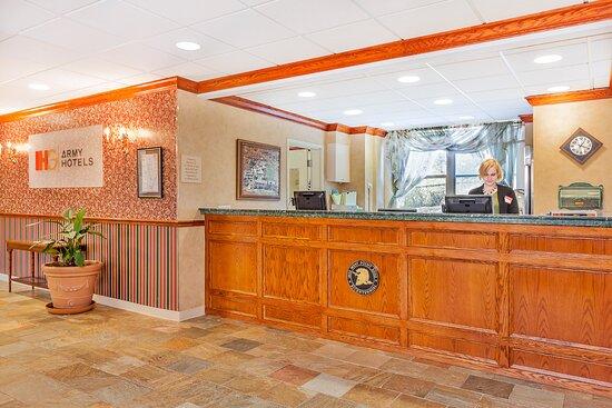 """IHG Army Hotels West Point """"Five Star Inn"""" Bldg 2113 Front Desk"""