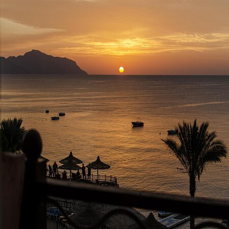 Concorde El Salam Sharm Sun set view