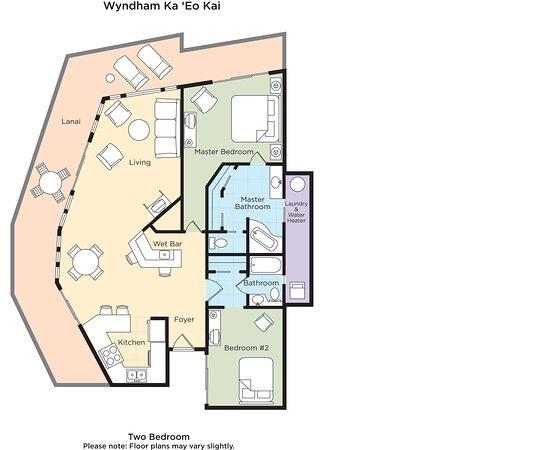 Two Bedroom Suite Floor Plan
