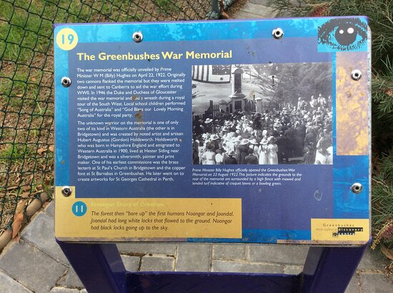 Greenbushes War Memorial