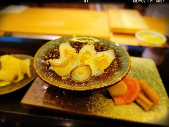 Omakase Dinner (HK$ 1,280/person): Hokkaido Octopus