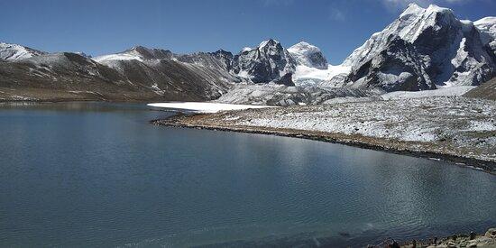 Sikkim, الهند: Gurudongmar Lake