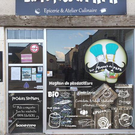 Le Bourg-d'Ire, França: Épicerie circuit court et zéro déchet