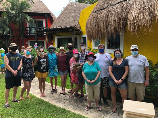 Cozumel Local Snorkel Trip: Free Covid-19 testing before we departed