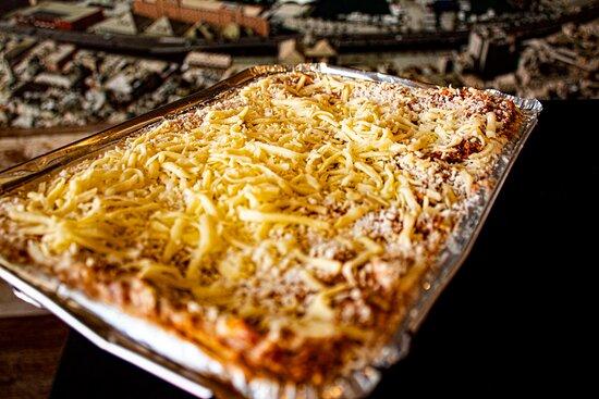 Promo Antipasto, Lasagna y Postre.