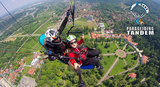 Bane Paragliding Tandem Letovi