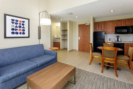 Holiday Inn Express Living Area Suite