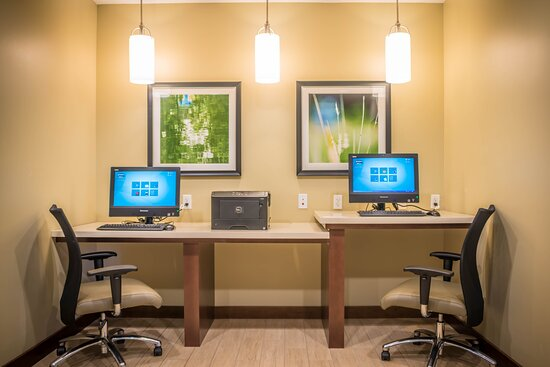 Our Business Center is available 24 hours.