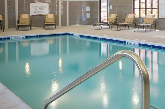 Take a refreshing swim in our heated indoor pool.