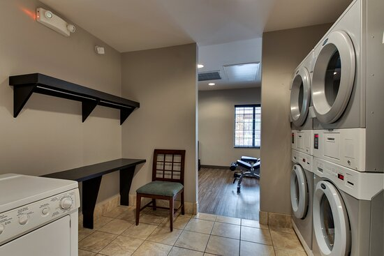 Complimentary self serve laundry, soap available in The Pantry