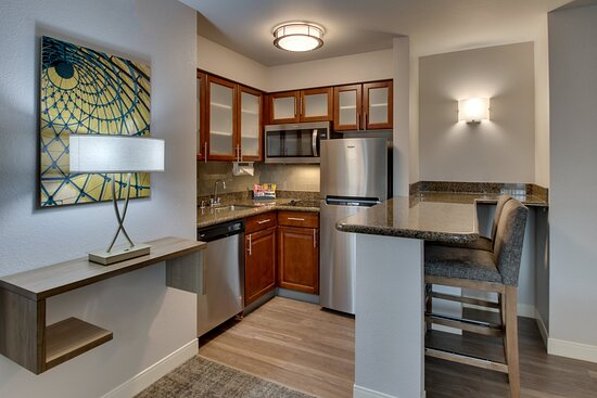 Full kitchen with dishes and appliances, just add food