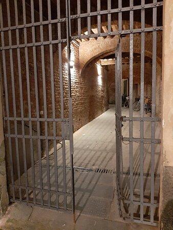 Ingresso cancello struttura