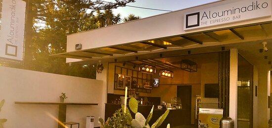 Alouminadiko The espresso Bar