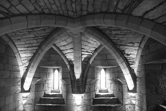 Bamburgh, Northumberland, England, United Kingdom, St Aidan's Church - crypt.