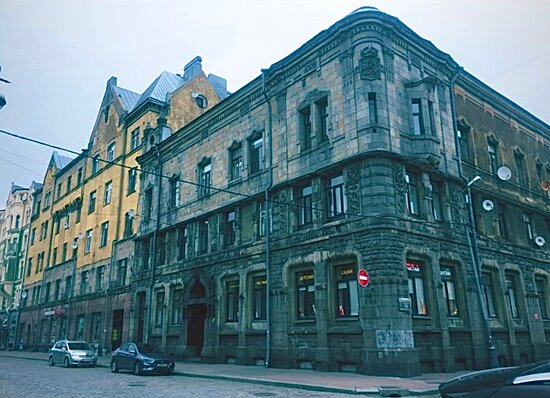 Building of the National Joint Stock Bank