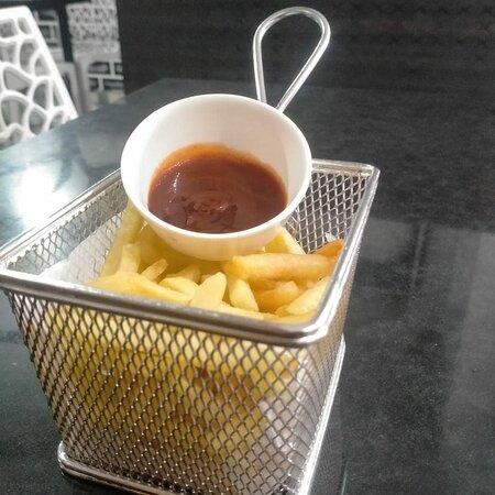 Sringeri, India: French Fries