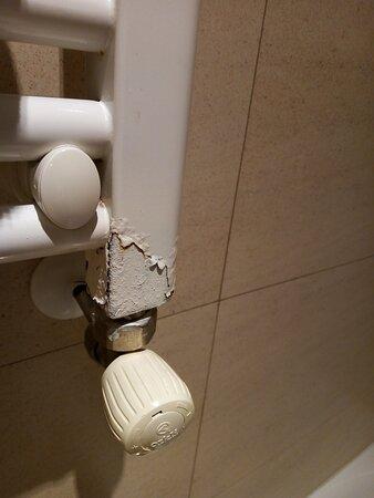 Radiador del baño