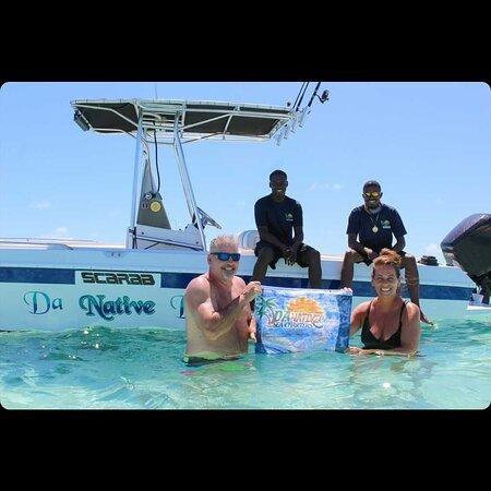 Halvdags privat tur til Rose Island og Green Turtle Cay: Family views