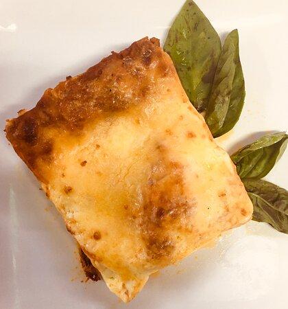 Layers of delicious Lasagna ...