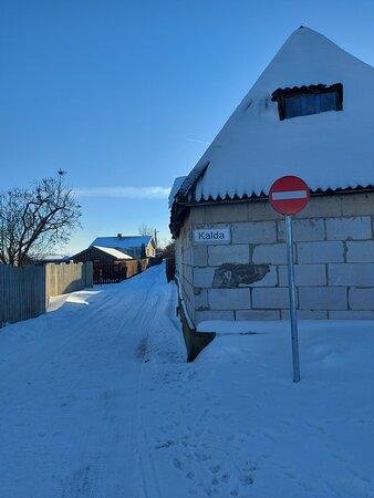 Kallaste, Estland: Улица Калда .город Калласте